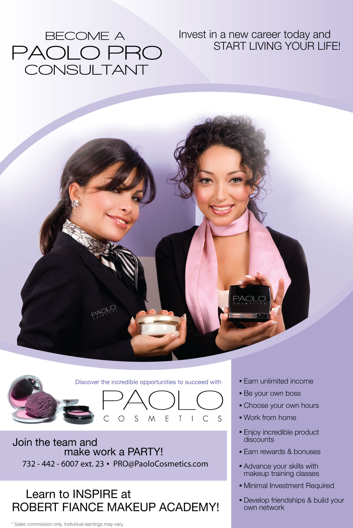 cosmetics retail consultants