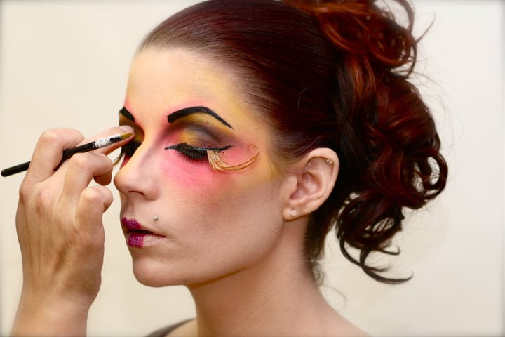 makeup training school, airbrush, makeup