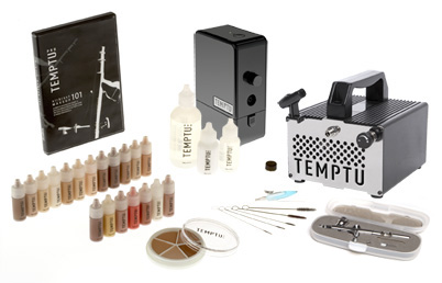 temptu airbrush, makeup school, student kit